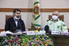 استاندار خوزستان:رفتار نیروی انتظامی، تعیینکننده نوع نگاه مردم به حکومت است